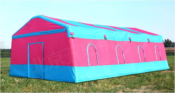 The process of inflatable tent, the advantage, the use and so long as the function is what?