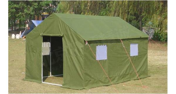 What factors and precautions should be taken into consideration in military cotton tents, civilian c